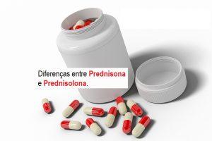 Diferenças entre Prednisona e Prednisolona.