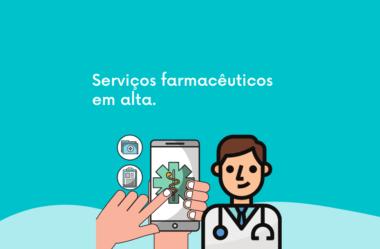 Serviços farmacêuticos em alta.